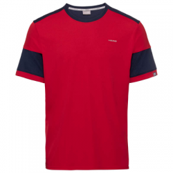 Camiseta Head Volley Rojo