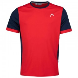 CAMISETA HEAD DAVIES ROJO